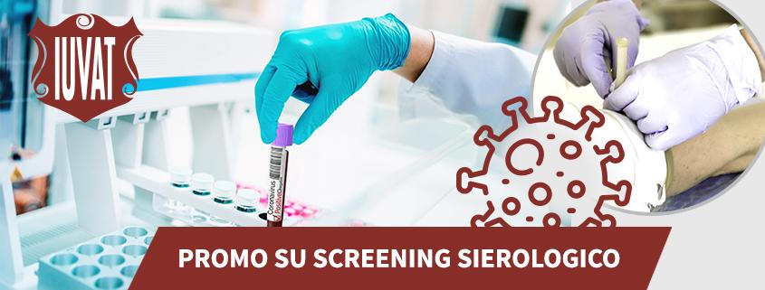 promozione screening sierologico covid